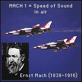 Mach 1: Fast planes and Ernst Mach