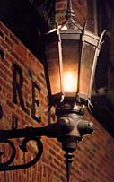 One of the earliest uses of natural gas was to fuel street lights in the 1800s.