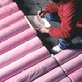 Insulation we use in our homes is a composite material.