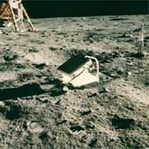 The Apollo 11 lunar laser ranging retroreflector array.